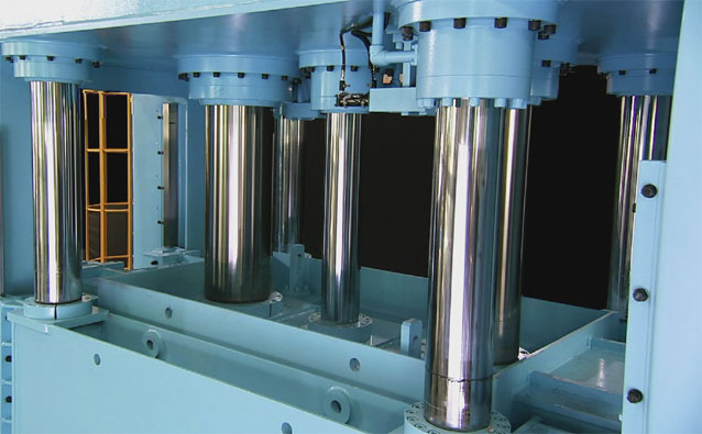 Hydraulic Press | Machine Tool Sources | HD Video